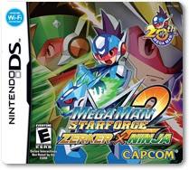 Rom Mega man Star Force 2 Zerker X Ninja NDS