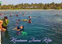 snorkeling di pulau menjangan kecil karimunjawa
