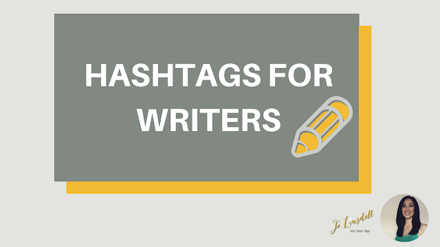 Hashtags for Writers