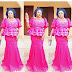 Stylish and Trendy Aso Ebi Lace Skirt and Blouse Styles for Pretty Ladies