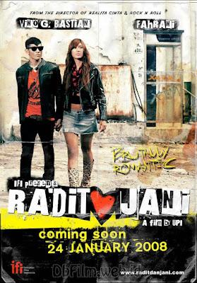 Sinopsis film Radit & Jani (2008)