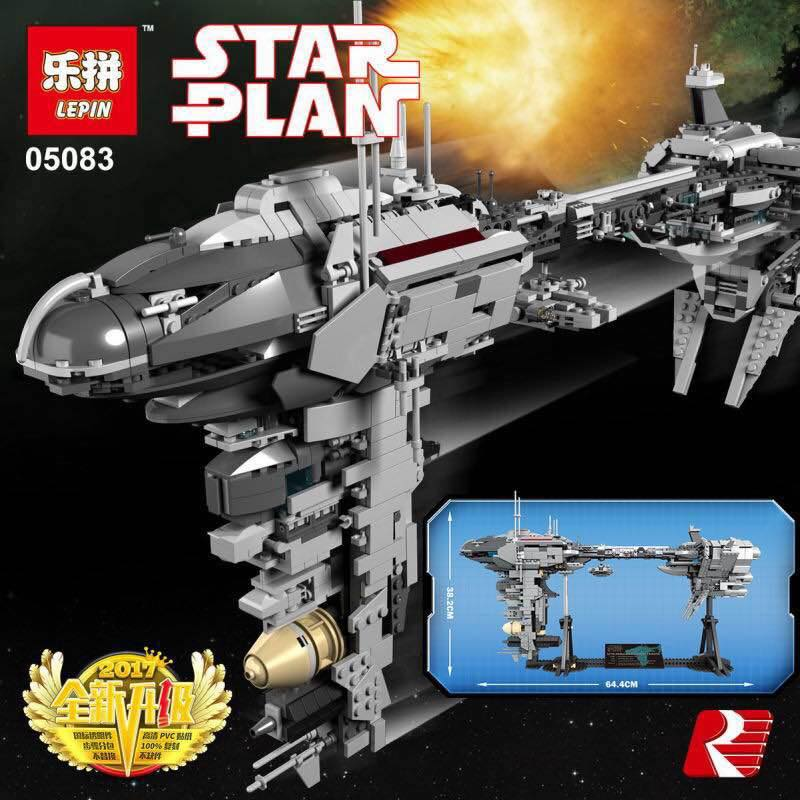 Lepin 05083 Star Plan Medical Frigate Unofficial Star Wars