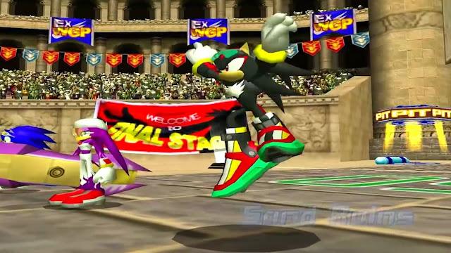 Imagem do Sonic Riders