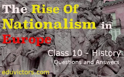 CBSE Class 10 - History - The Rise Of Nationalism in Europe ( Questions - Answers)(#class10SocialScience)(#class10History)(#eduvictors)(#cbsenotes)