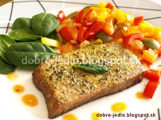Tuniak so zeleninou - recepty