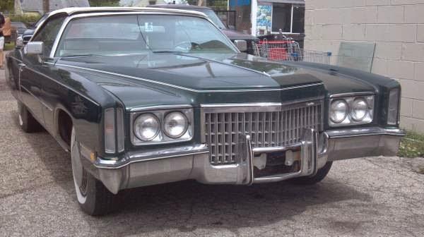 Daily Turismo: 5k: 8 2 Litre V8: 1972 Cadillac Eldorado