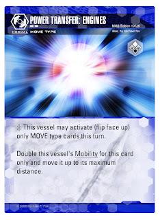 Dog Fight: Starship Edition Power Transfer: Engines