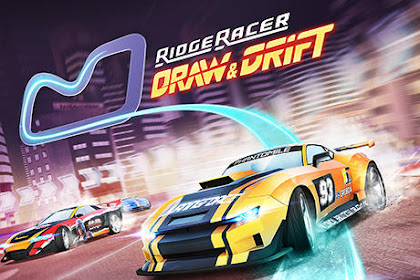 Download Game Android Ridge racer: Draw and drift