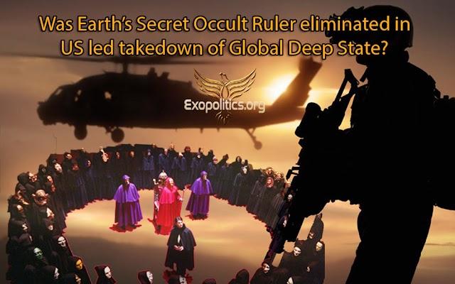 ¿Fue eliminado el Gobernante Oculto Secreto de la Tierra en el derribo liderado por Estados Unidos al Global Deep State?