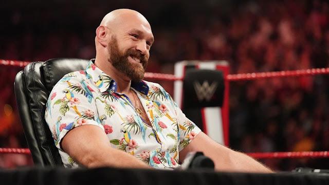 Tyson Fury revela que estava programado para a WrestleMania 36