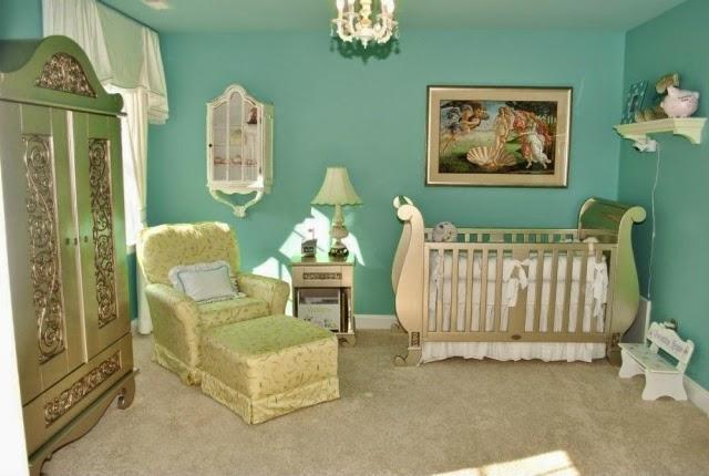 cuarto de lujo para bebé