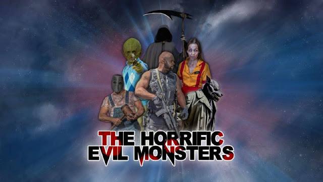 El escuadrón suicida del terror en 'The Horrific Evil Monsters' [Tráiler]
