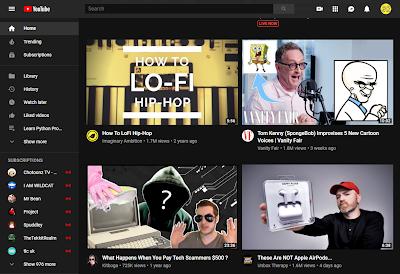 موقع يوتيوب يختبر تصميم جديد لصفحته الرئيسية على النسخة المكتبية، التصميم الجديد تعرض فيه الفيديوهات على الصفحة الرئيسية بشكل أكبر، الأمر الذي أزعج بعض المستخدمين الذين إختارتهم يوتيوب لمعرفة أرائهم