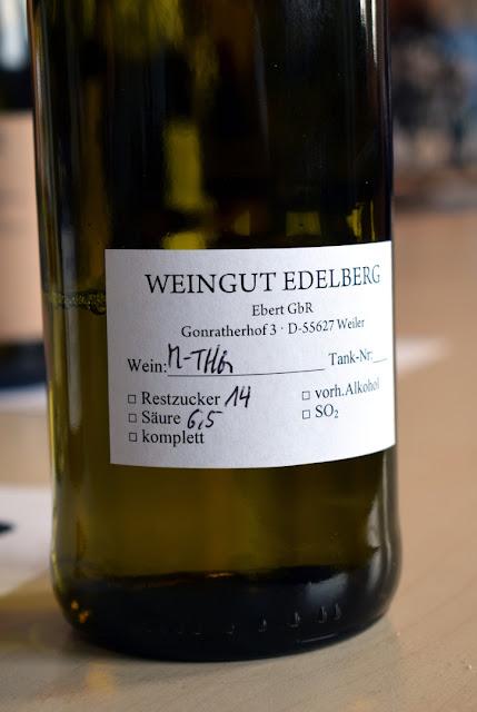 Müller-Thurgau aus dem Weingut Edelberg