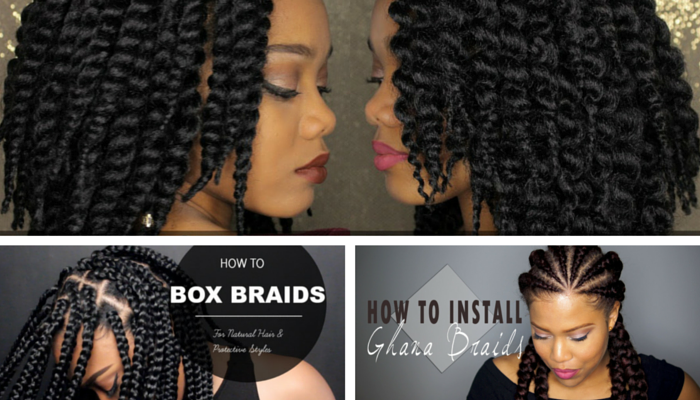 3 Easy Hair Braiding Styles Beginner Friendly Curlynikki Natural Hair Care