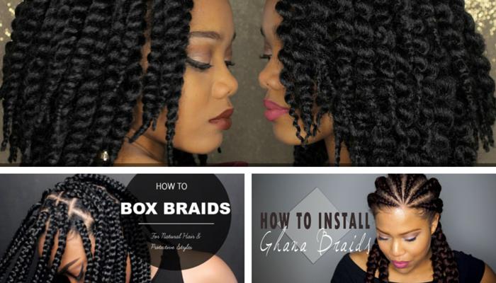 Astonishing 3 Easy Hair Braiding Styles Beginner Friendly Curlynikki Short Hairstyles For Black Women Fulllsitofus