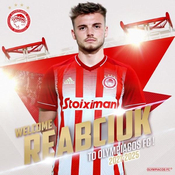 Oficial: Olympiacos, firma Reabciuk hasta 2025