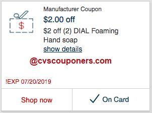 cvs couponers deals
