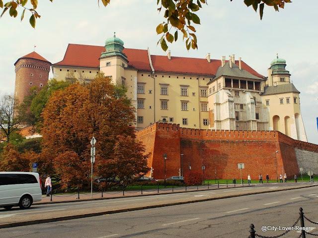 Wawel slottet i Krakow