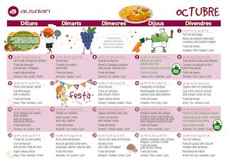 Imatge del menú d'octubre