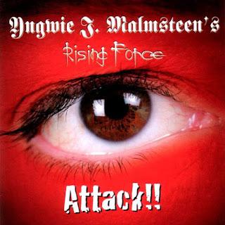 """Ο δίσκος του Yngwie Malmsteen """"Attack!!"""""""