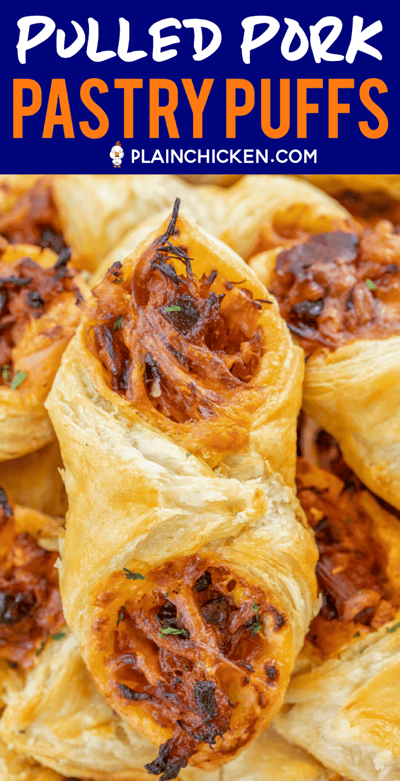 PULLED PORK PASTRY PUFFS RECIPE