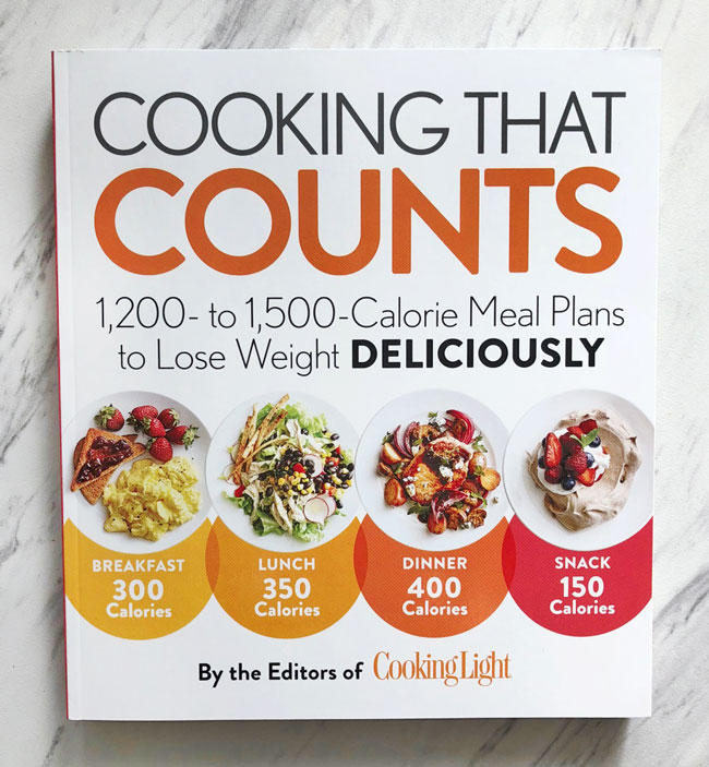 Cooking that Counts by the Editors of Cooking Light, Cooking that Counts Cooking Light, Cookbook, Cooking Light, Healthy Eating