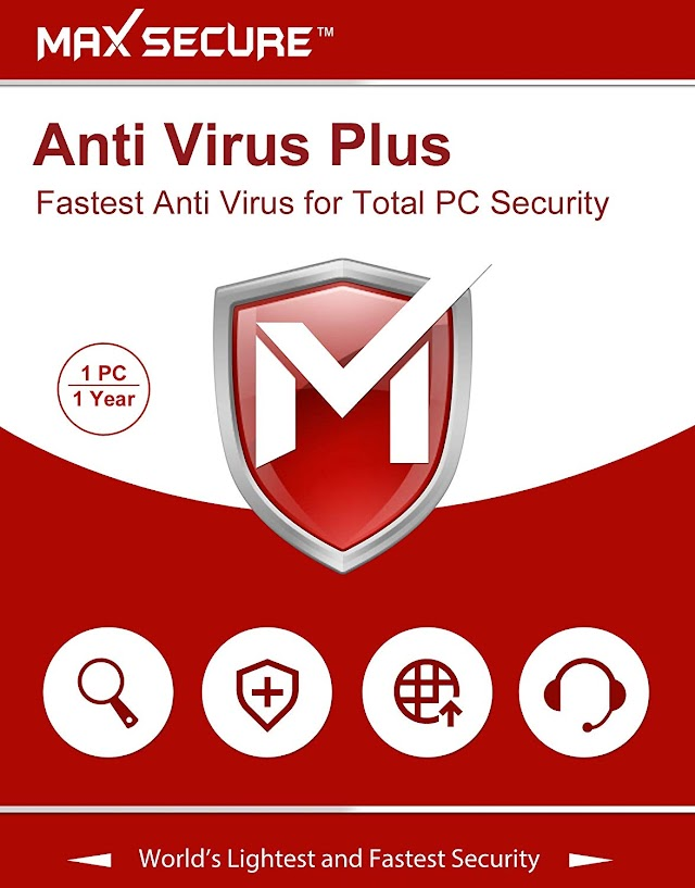 Max Secure Antivirus Plus Version 6 - 1 PCs, 1 Years (Email Delivery in 2 Hours - No CD)