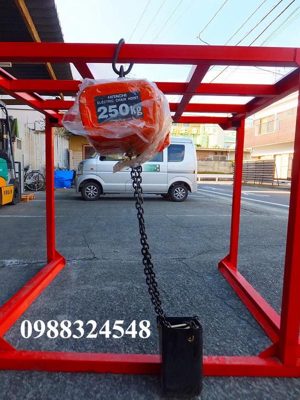 palang điện xích Hitachi 1/4SH2 250kg