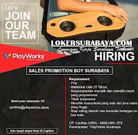 We Are Hiring at PlayWorks Surabaya December 2019