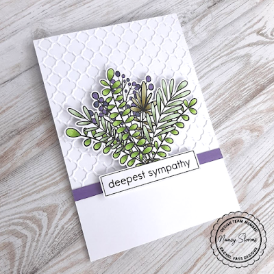 Rachel Vass Designs - Leafy Ribbon