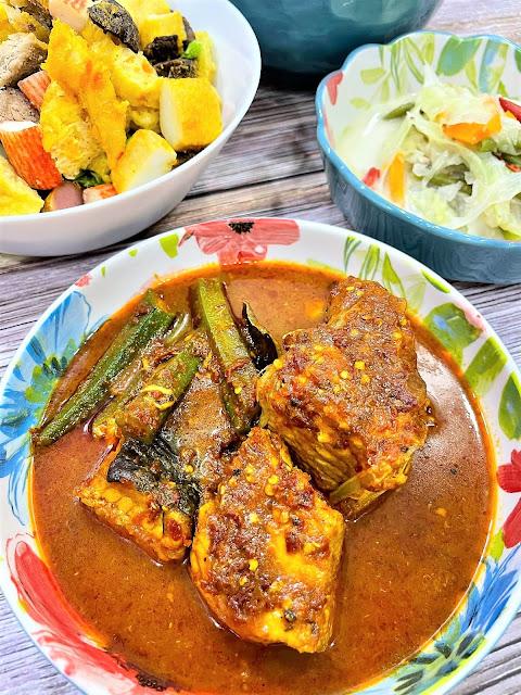 Masak Asam Pedas Ikan Pari Untuk Adik Aku