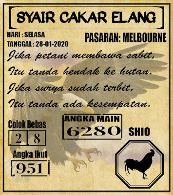 SYAIR MELBOURNE 28-01-2020