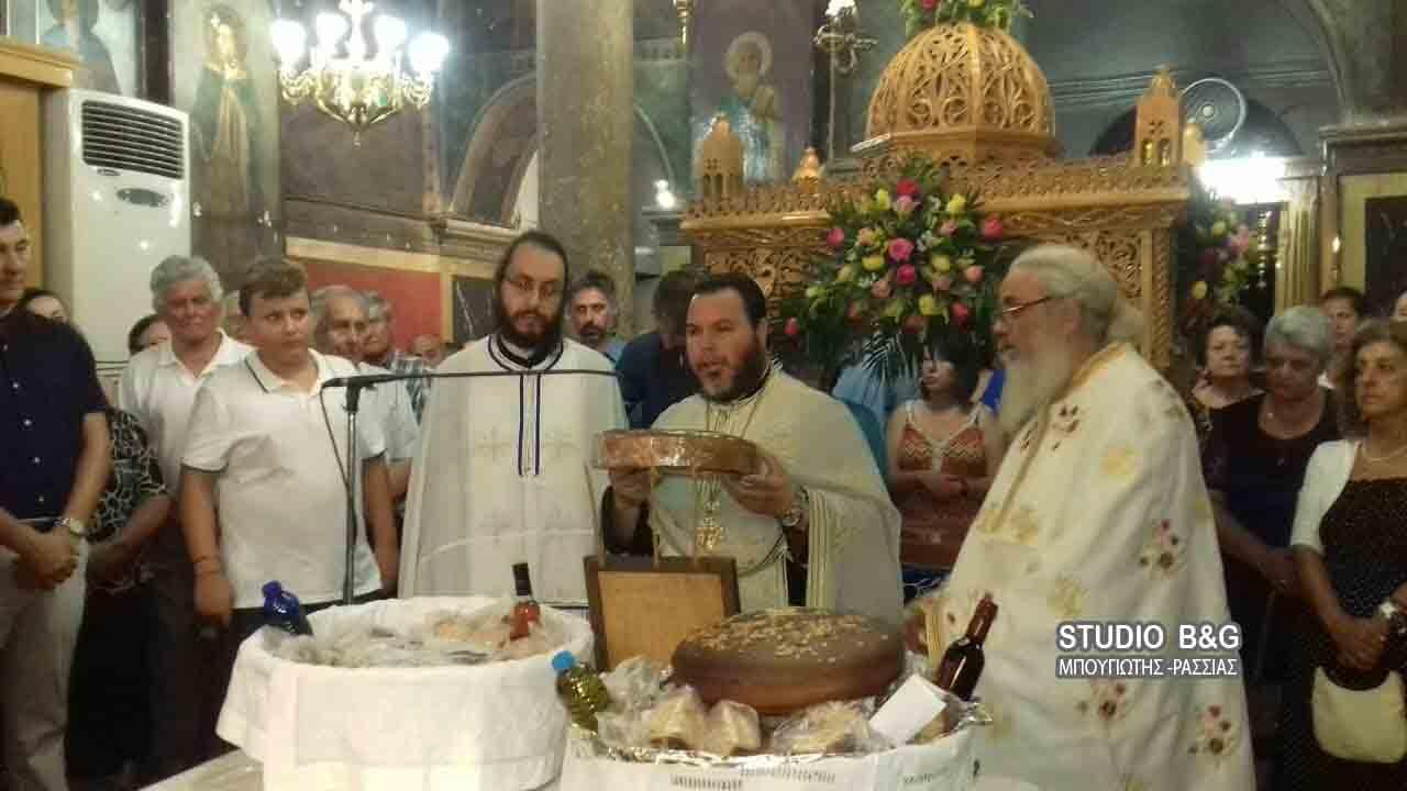 Η εορτή  της Παναγίας στο Βυζαντινό Ναό Κοιμήσεως της Θεοτόκου στο Νέο Ηραίο