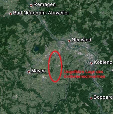 Erdbeben Eifel