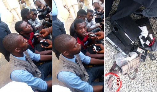 Students nabbed while trying to assassinate final year student