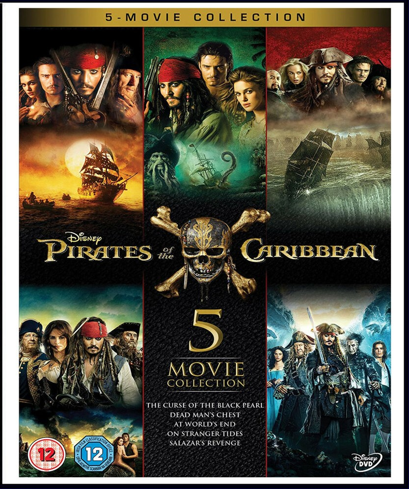 PIRATES OF THE CARIBBEAN MOVIES COLLECTION (2003 - 2011) TAMIL DUBBED HD