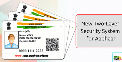 New Two-Layer Security System for Aadhaar