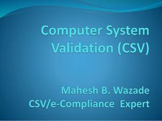 Thẩm định Hệ thống Máy tính trong Dược phẩm