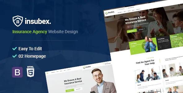 Best Insurance Broker HTML5 Template