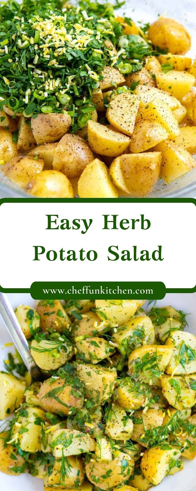 Easy Herb Potato Salad