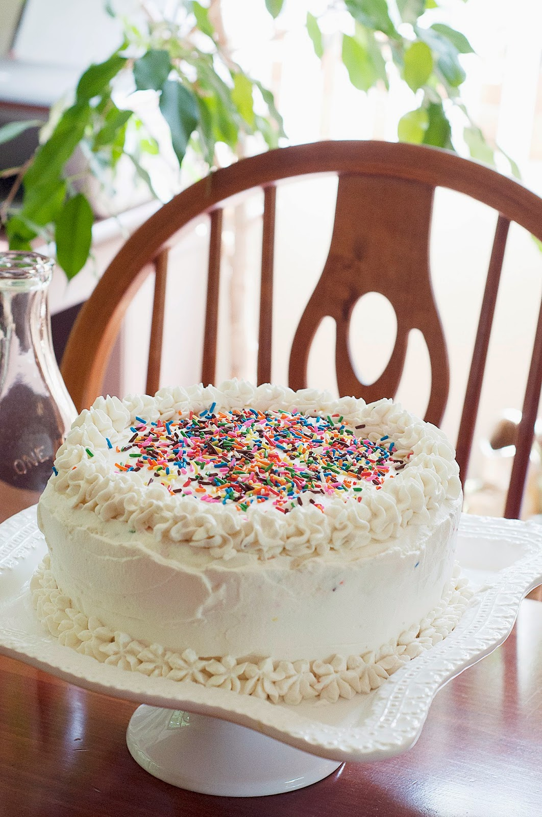 Lakyn Judah Triple Layer Funfetti Cake