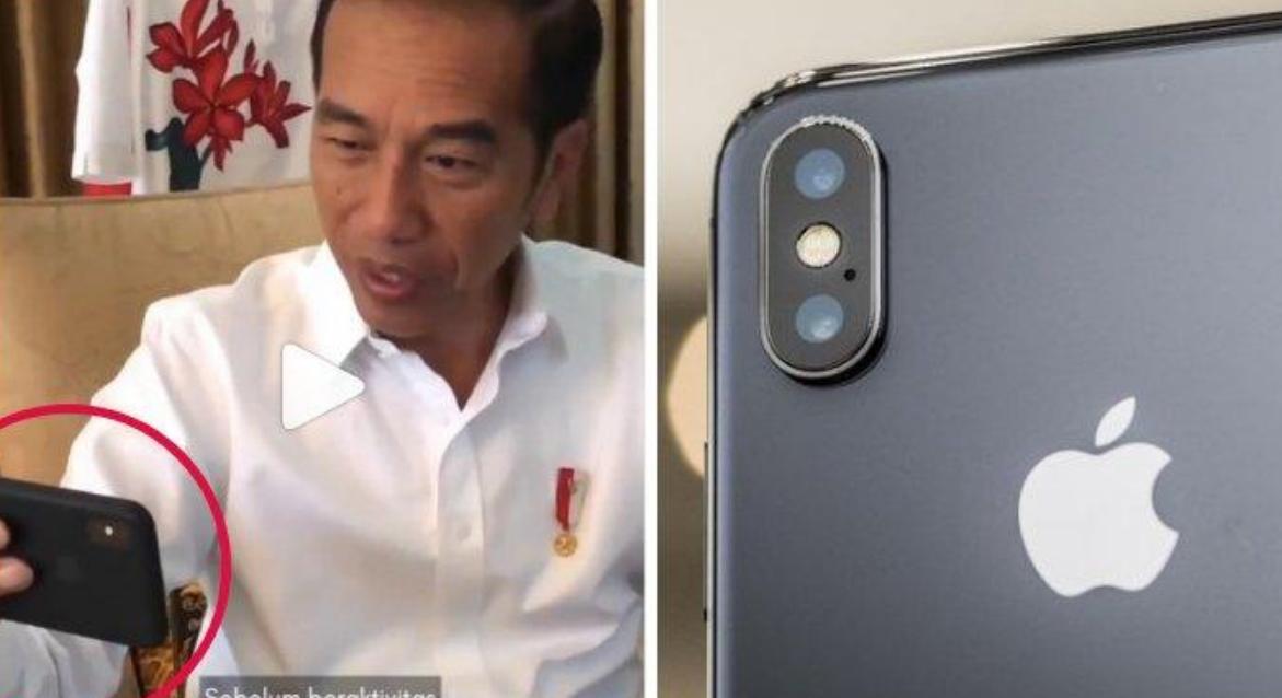 Inilah Merek HP Yang Selalu Di Pakai Jokowi Saat Nge-Vlog