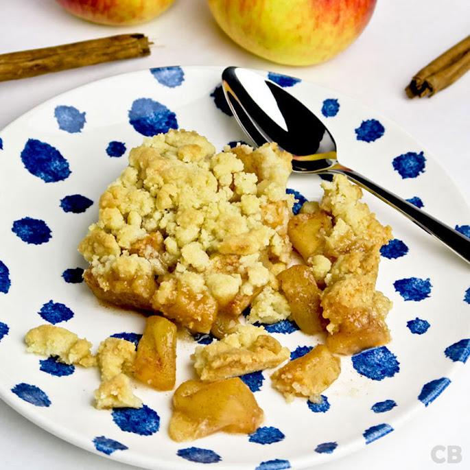 Verrukkelijke apple crumble