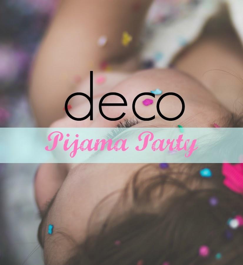 decoracion fiesta pijama 1