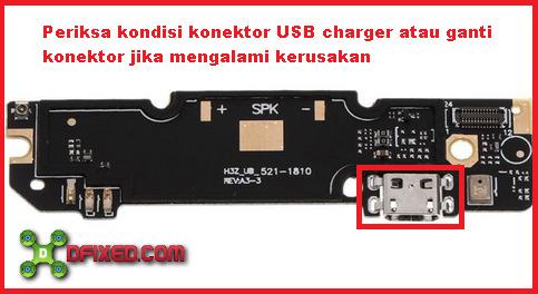 Konektor charger xiaomi redmi note 3 not charging
