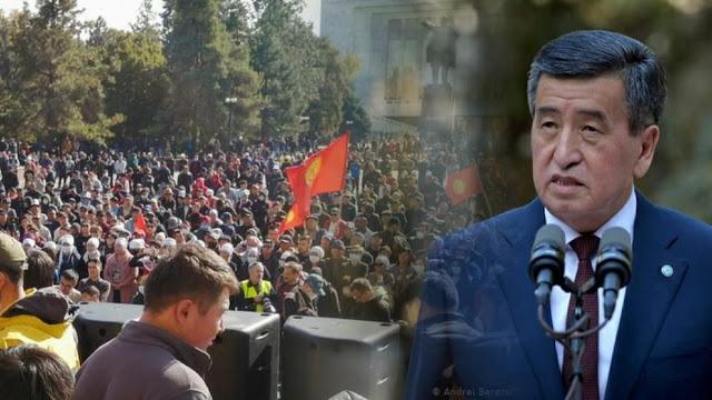 "Presiden Kirgizstan Mundur Pascakerusuhan, ""Saya Tak Ingin jadi Presiden yang Membiarkan Pertumpahan Darah"""
