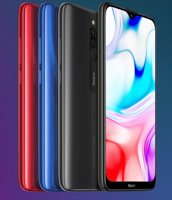 Redmi 8 with 5,000mAh battery launched in India at Rs. 7,999