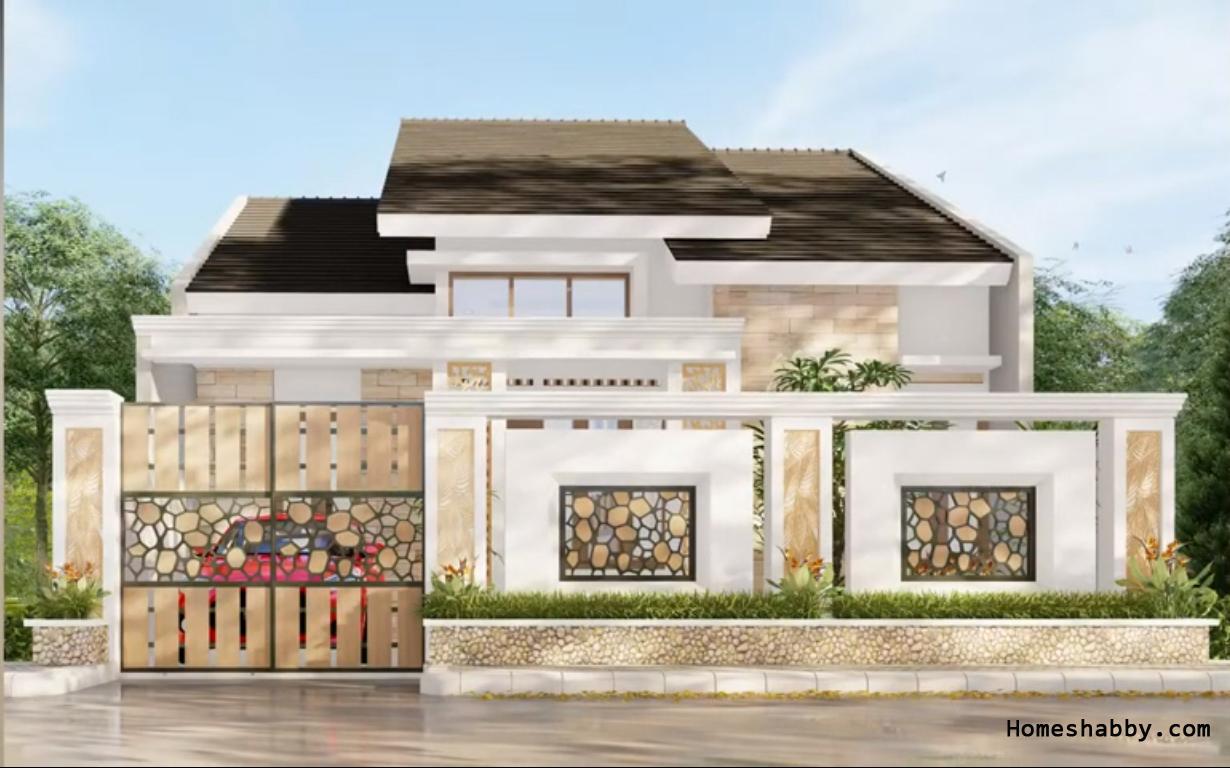 Denah Dan Desain Rumah Ukuran 9 X 9 M Dengan 4 Kamar Tidur Yang Elegant Memberikan Kenyamanan Untuk Keluarga Homeshabby Com Design Home Plans Home Decorating And Interior Design