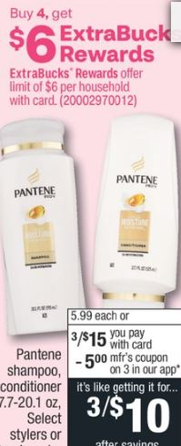 Pantene Shampoo or Conditioner